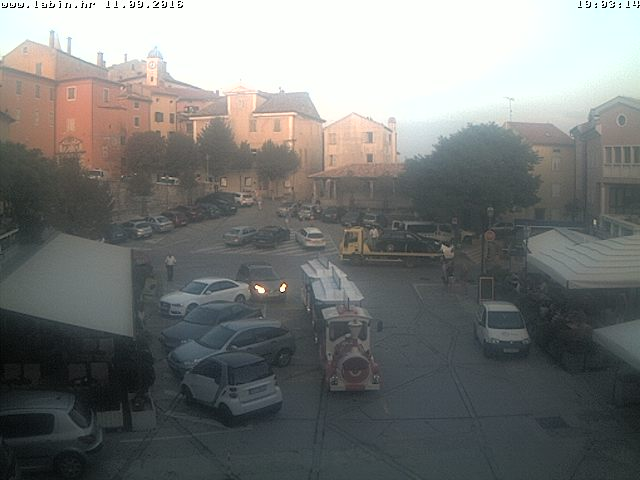 Labin Live Cam, Croatia